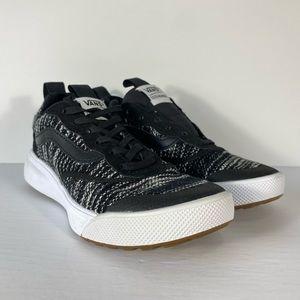 Vans UltraRange Cardi Knit Black Sneakers